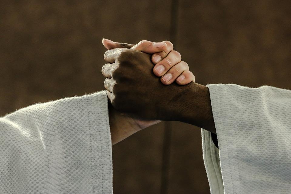 S'entraîner et se perfectionner au judo
