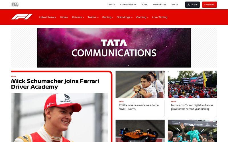 Les dernières actualités de la Formule 1